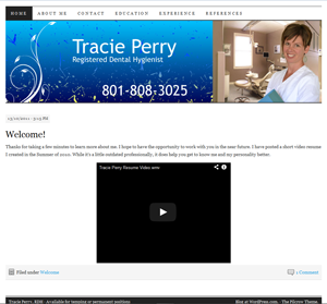 Tracie-Website