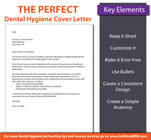 the perfect dental hygiene cover letter 01