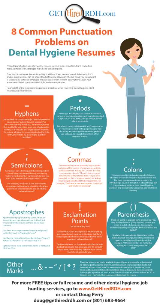 8-Common-Punctuation-Problems-on-Dental-Hygiene-Resumes
