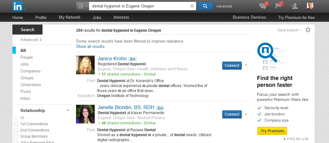 How to Expand Your Dental Hygiene LinkedIn Network