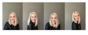 headshots of woman